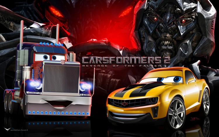 Wallpapers Cartoons Cars 1 and 2 Carsformers 2