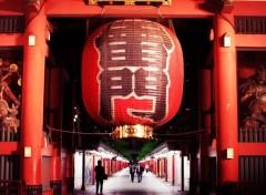 Fonds d'écran Voyages : Asie Entrée rouge & noir