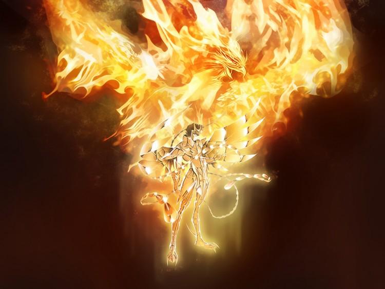 Fonds d'écran Manga Saint Seiya - Les Chevaliers du Zodiaque Gold Saint Ikki