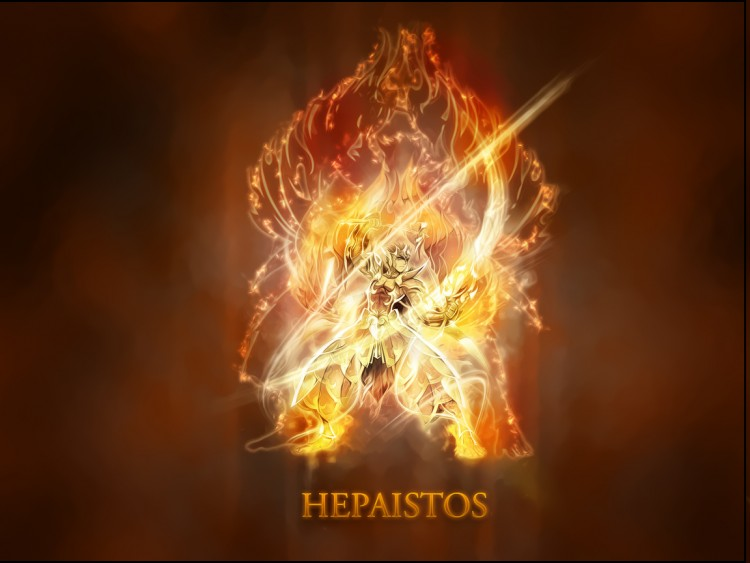Wallpapers Manga Saint Seiya Saint Seiya Hephaistos