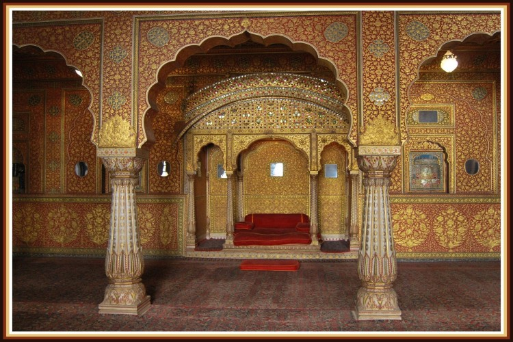 Wallpapers Trips : Asia India Palais de Bikaner - Rajasthan