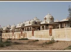 Wallpapers Trips : Asia Cénotaphes royaux à Manwar - Rajasthan