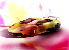 Fonds d'écran Voitures Lamborghini Murciélago  SV wallpaper by bewall.com