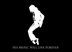 Fonds d'écran Musique Michael Jackson : His Music Will Live Forever