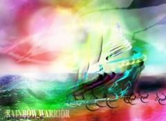 Fonds d'écran Bateaux Rainbow Warrior