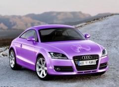 Wallpapers Cars Audi TT (édition Purple Orchid)