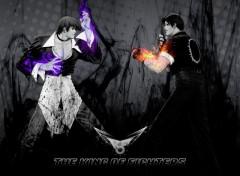 Wallpapers Video Games Kyo VS Iori
