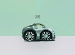 Fonds d'écran Art - Numérique Mini Bugatti