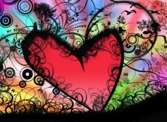 Wallpapers Digital Art Pays d'amour