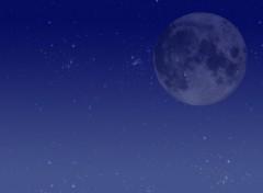 Fonds d'écran Art - Numérique Lune