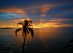 Fonds d'écran Nature Coucher de soleil d'été