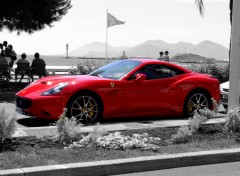 Wallpapers Cars Ferrari a Cannes