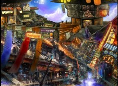 Wallpapers Digital Art CityScape