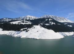 Wallpapers Nature Mont d'Or et lac de L'Hongrin (Suisse)