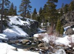 Fonds d'écran Nature fonte des neiges