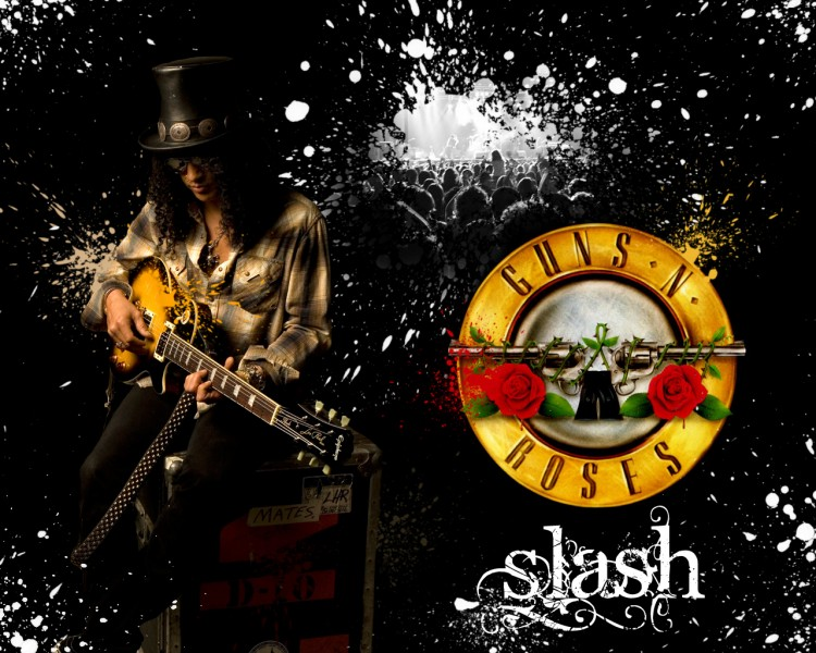 wallpaper guns and roses. Wallpapers Music Slash (Guns