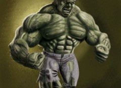 Wallpapers Art - Painting Hulk