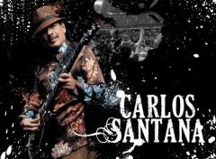 Fonds d'�cran Musique Carlos Santana