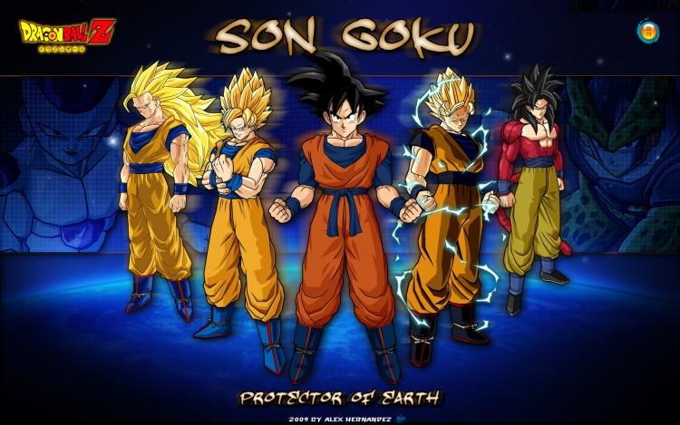 Fonds d'écran Manga Dragon Ball Z Son Goku