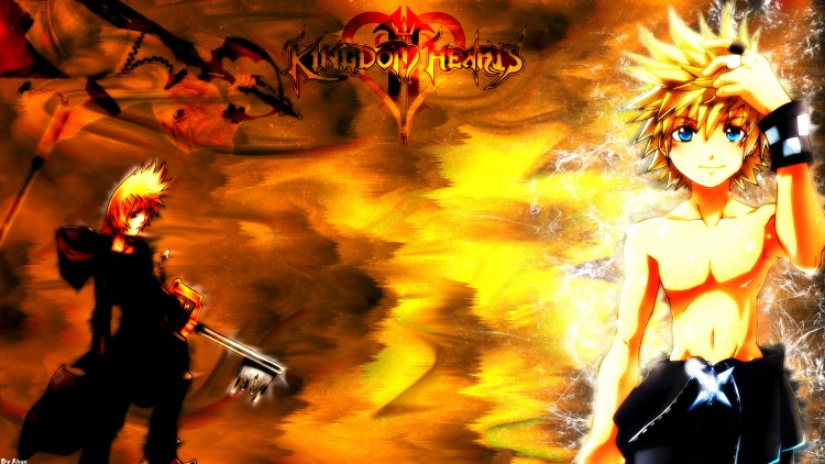 Wallpapers Video Games Kingdom Hearts II Roxas Brazier FullHD
