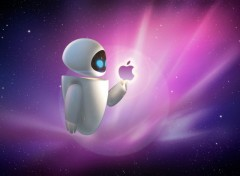 Fonds d'�cran Informatique Apple et eve