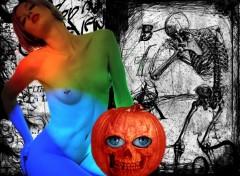 Fonds d'écran Erotic Art halloween