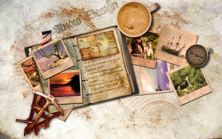 Wallpapers Fantasy and Science Fiction Pirates Carnet de voyage