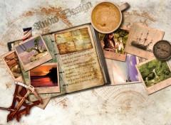 Fonds d'écran Fantasy et Science Fiction Carnet de voyage