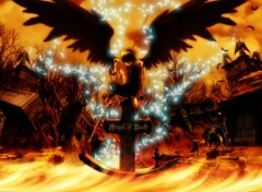 Fonds d'écran Manga Angel of death Remake