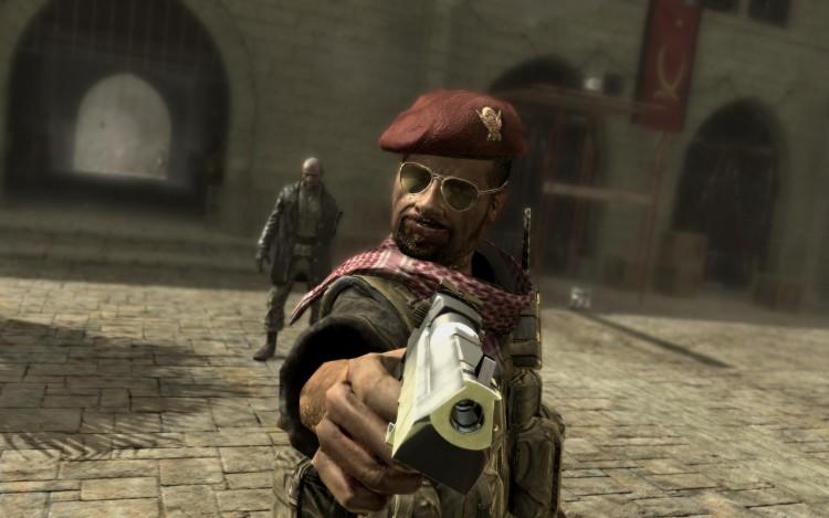 Fonds d'écran Jeux Vidéo Call of Duty - Modern Warfare Headshot par aRIAL