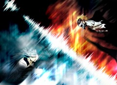 Wallpapers Manga ichigo vs grimmjow