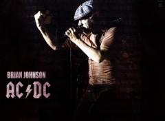 Fonds d'écran Musique ACDC - Brian Johnson