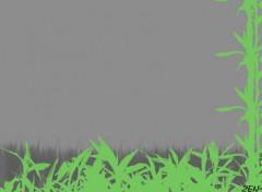 Fonds d'écran Art - Numérique Bambou