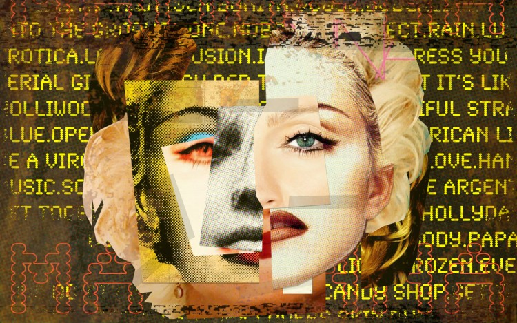 Fonds d'écran Musique Madonna my own celebration cover contest