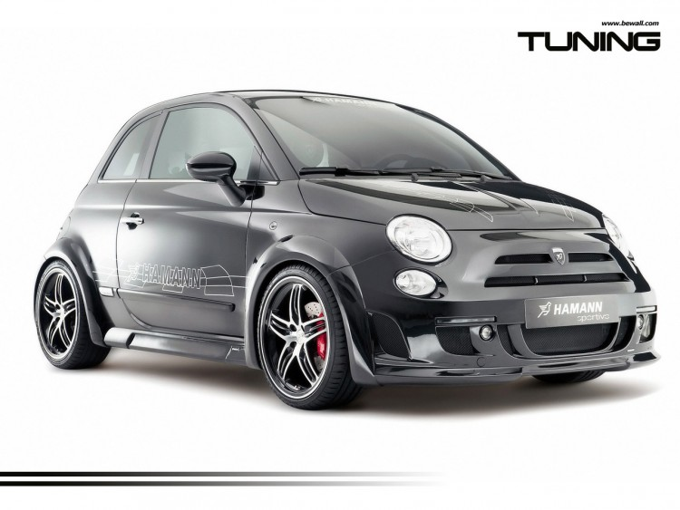 Fonds d'écran Voitures Tuning Fiat 500 Tuning wallpaper by bewall.com