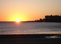 Fonds d'écran Voyages : Amérique du sud Couché de soleil sur Montevideo