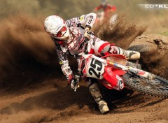 Fonds d'�cran Motos Cl�ment Desalle # World Championship MX 1
