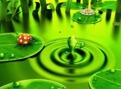 Fonds d'écran Art - Numérique Green Dawn