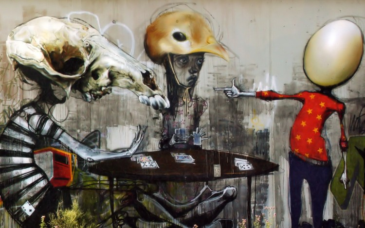 Wallpapers Art - Painting Graffitis Graff