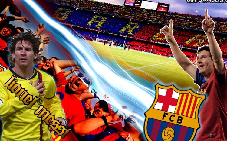 Fonds d'écran Sports - Loisirs FC Barcelone Wallpaper N°249430