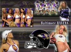 Wallpapers Sports - Leisures Baltimore Ravens Cheerleaders