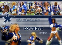 Fonds d'écran Sports - Loisirs Dallas Cowboys Cheerleaders