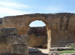 Wallpapers Trips : Africa thermes d'antonin (carthage)