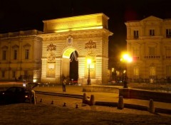 Wallpapers Trips : Europ L'arc de triomphe de Montpellier (34)