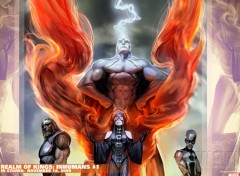 Wallpapers Comics inhumans