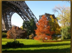 Wallpapers Constructions and architecture Balade autour de la tour Eiffel