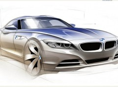 Fonds d'écran Voitures bmw concept car wallpaper