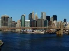 Fonds d'écran Voyages : Amérique du nord Brooklyn Bridge from Manhattan Bridge