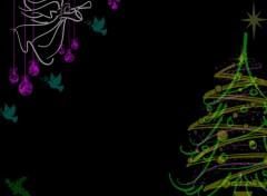 Fonds d'écran Art - Numérique Ange de Noël
