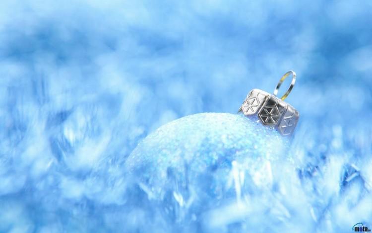 Fonds d'écran Art - Numérique Fêtes - Noël Blue Christmas